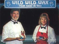 wax hands birthday parties